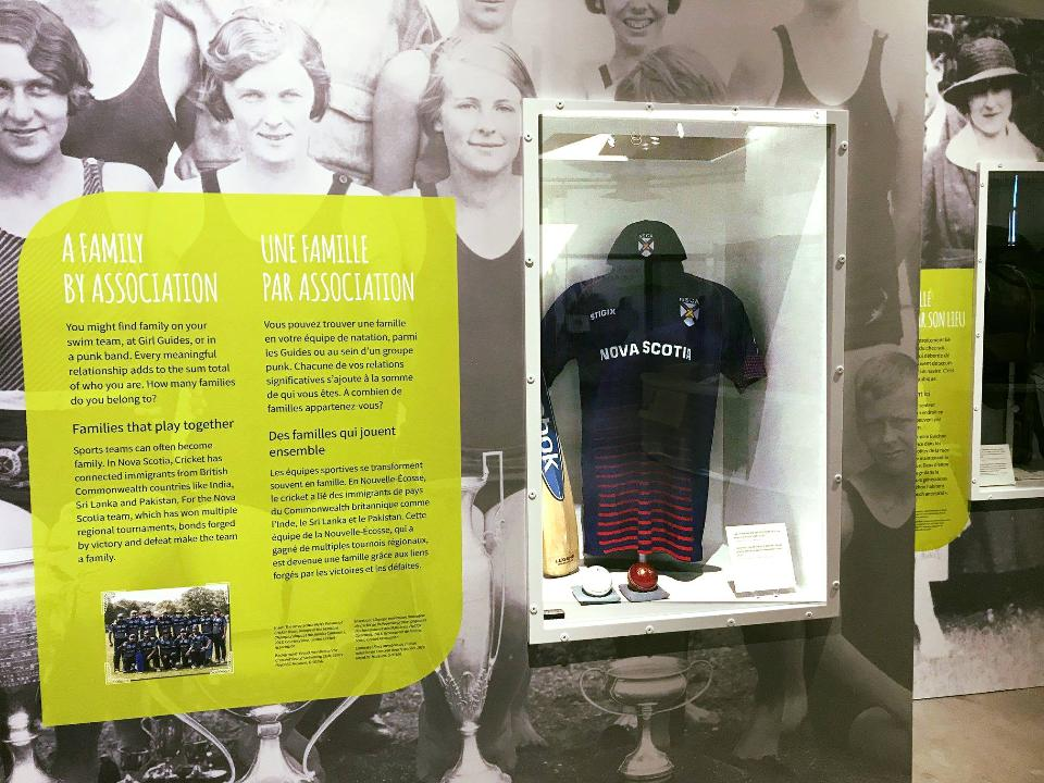 NSCA featured in the Canadian Museum of Immigration at Pier 21''''s Family Bonds & Belonging exhibition